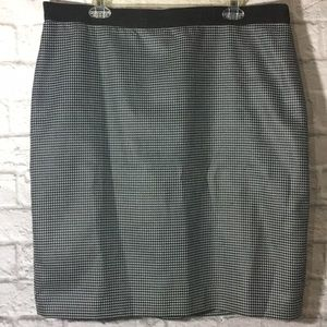 Ann Taylor Checkered Skirt